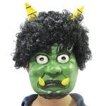 【コスプレ】Patymo かつら付き緑鬼ラバーマスク