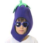 コスプレ/キャップ 【とれたてなすキャップ】 帽子 『おもしろキャップ』 〔フェス イベント〕