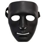パーティー/イベント 【6枚セット】 ダンスマスク 黒 『Uniton』〔フェス〕