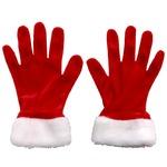 パーティー/コスプレ 【2点セット】 サンタグローブ 『Patymo』 〔クリスマス フェス〕