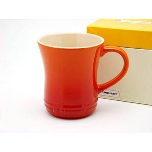ル・クルーゼ (Le Creuset) マグカップS オレンジ - 拡大画像