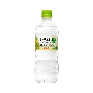 【まとめ買い】コカ・コーラ い・ろ・は・す(いろはす/I LOHAS) スパークリングれもん 515ml×24本(1ケース) ペットボトル - 拡大画像
