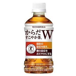 【まとめ買い】コカ・コーラ からだすこやか茶W (特定保健用食品/トクホ飲料) 350ml×24本(1ケース) ペットボトル - 拡大画像