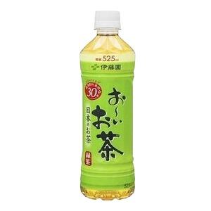 【まとめ買い】伊藤園 おーいお茶 緑茶 ペットボトル 525ml×24本(1ケース) - 拡大画像