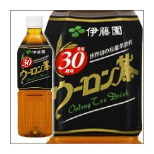 【まとめ買い】伊藤園 ウーロン茶 ペットボトル 500ml×24本(1ケース) - 拡大画像
