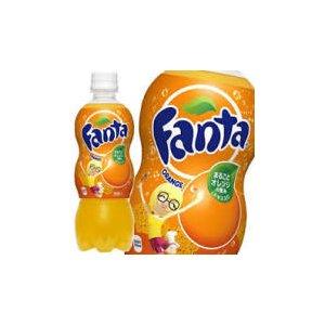 【まとめ買い】コカ・コーラ ファンタ オレンジ ペットボトル 500ml×24本(1ケース) - 拡大画像