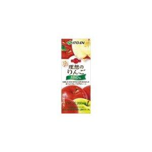 【まとめ買い】伊藤園  ビタミンフルーツ 理想のりんご 紙パック 200ml×24本(1ケース) - 拡大画像