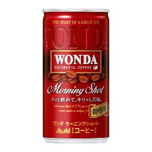 【まとめ買い】アサヒ ワンダ モーニングショット 缶 185g×30本入り(1ケース) - 拡大画像