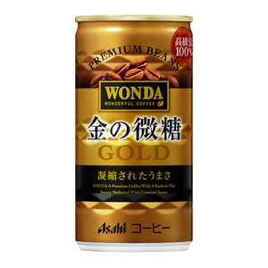 【まとめ買い】アサヒ ワンダ 金の微糖 缶 185g×30本入り(1ケース) - 拡大画像