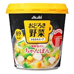 【まとめ買い】アサヒフーズ おどろき野菜 ちゃんぽん 24カップ入り(6カップ×4ケース) - 拡大画像