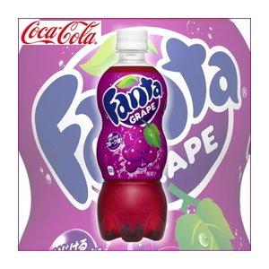 【まとめ買い】コカ・コーラ ファンタ グレープ ペットボトル 500ml×48本【24本×2ケース】 - 拡大画像