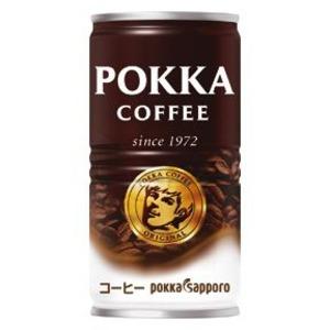 【まとめ買い】ポッカサッポロ ポッカコーヒー オリジナル 190g 缶 30本入り(1ケース) - 拡大画像