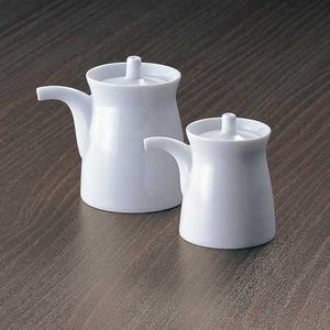 白山陶器G型しょうゆさし白大・小セット