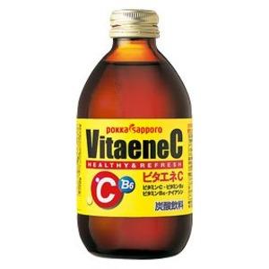 【まとめ買い】ポッカサッポロ ビタエネC 240ml 瓶 24本入り(1ケース) - 拡大画像
