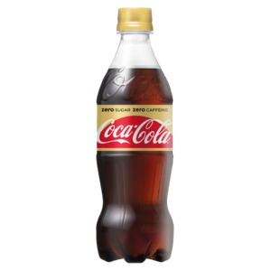 【まとめ買い】コカ・コーラ ゼロカフェイン 500ml PET 24本入り【1ケース】 - 拡大画像