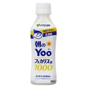 【まとめ買い】伊藤園 朝のYoo(ヨー)フェカリス菌1000 PET 265ml×24本(1ケース)