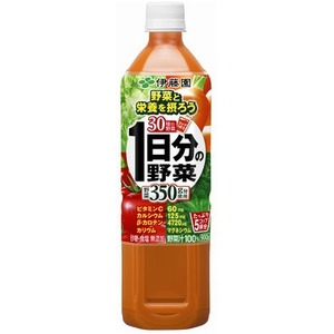 【まとめ買い】伊藤園 1日分の野菜 PET 900g×24本(12本×2ケース)  - 拡大画像