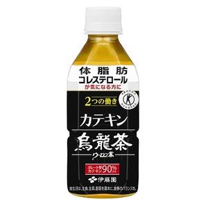 【まとめ買い】伊藤園 2つの働き カテキン烏龍茶 PET 350ml×48本(24本×2ケース)