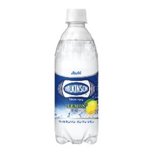 【まとめ買い】アサヒ ウィルキンソン タンサン レモン ペットボトル 500ml×24本(1ケース) - 拡大画像