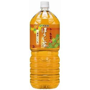 【まとめ買い】伊藤園 おーいお茶 ほうじ茶 ペットボトル 2.0L×6本(1ケース) - 拡大画像