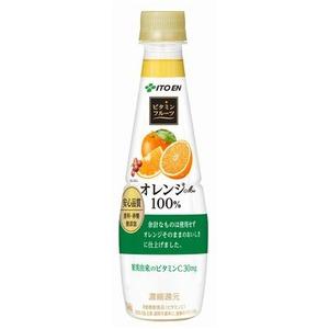 【まとめ買い】伊藤園 ビタミンフルーツ オレンジMix PET 340g×24本(1ケース) - 拡大画像