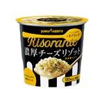 【まとめ買い】ポッカサッポロ リゾランテ 濃厚チーズリゾット (カップ) 46.9g×24カップ(6カップ×4ケース)
