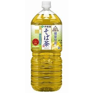 【まとめ買い】伊藤園 伝承の健康茶 健康焙煎 そば茶 ペットボトル 2.0L×12本【6本×2ケース】 - 拡大画像