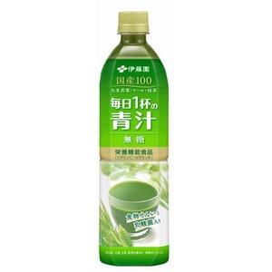 【まとめ買い】伊藤園 毎日1杯の青汁 無糖 PET 900g×24本(12本×2ケース)  - 拡大画像