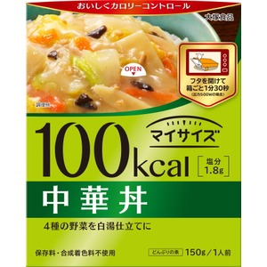 【まとめ買い】大塚食品 100kcalマイサイズ 中華丼 150g 30個(1ケース) - 拡大画像