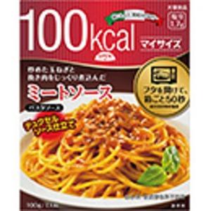 【まとめ買い】大塚食品 100kcalマイサイズ ミートソース 100g 30個(1ケース) - 拡大画像