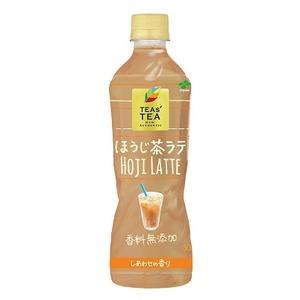 【まとめ買い】伊藤園 TEAs'TEA NEW AUTHENTIC ほうじ茶ラテ PET 500ml×48本(24本×2ケース) - 拡大画像