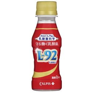 【まとめ買い】カルピス 守る働く乳酸菌 L92 PET 100ml×60本(30本×2ケース) - 拡大画像