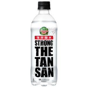 【まとめ買い】コカ・コーラ カナダドライ ザ・タンサン・ストロング  ペットボトル 490ml×24本(1ケース) - 拡大画像