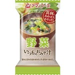 【まとめ買い】アマノフーズ いつものおみそ汁 野菜 10g(フリーズドライ) 10個