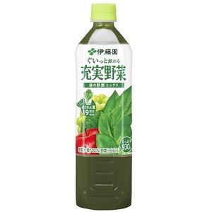 【まとめ買い】伊藤園 充実野菜 緑の野菜ミックス PET 930g×24本(12本×2ケース) - 拡大画像