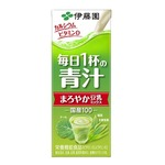 【まとめ買い】伊藤園 毎日1杯の青汁 まろやか豆乳ミックス 紙パック 200ml×24本(1ケース) border=