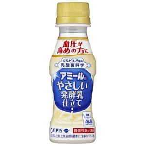 【まとめ買い】カルピス 「アミール」やさしい発酵乳仕立て PET 100ml×30本(1ケース) - 拡大画像