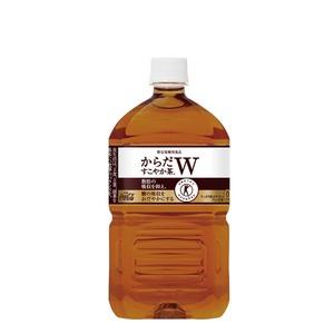 【まとめ買い】コカ・コーラ からだすこやか茶W (特定保健用食品/トクホ飲料) 1.05L×12本(1ケース) ペットボトル - 拡大画像