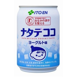 【まとめ買い】伊藤園 ナタデココ ヨーグルト味 缶 280g×24本(1ケース) - 拡大画像