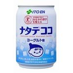 【まとめ買い】伊藤園 ナタデココ ヨーグルト味 缶 280g×24本(1ケース)