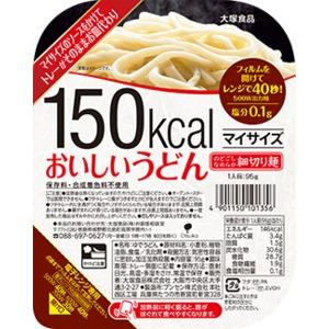 【まとめ買い】大塚食品 150kcalマイサイズ おいしいうどん 95g 12個 - 拡大画像