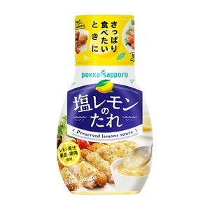 【まとめ買い】ポッカサッポロ 塩レモンのたれ (150g) 12本(1ケース) - 拡大画像