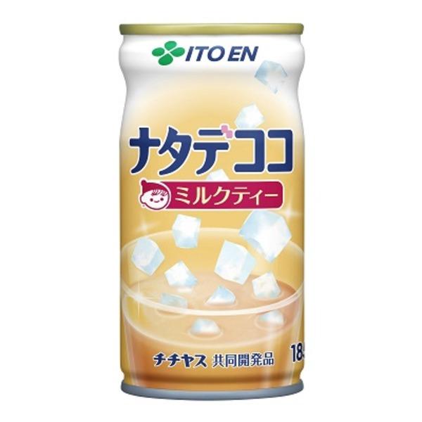 【まとめ買い】伊藤園 ナタデココ ミルクティー 缶 185g×30本(1ケース)