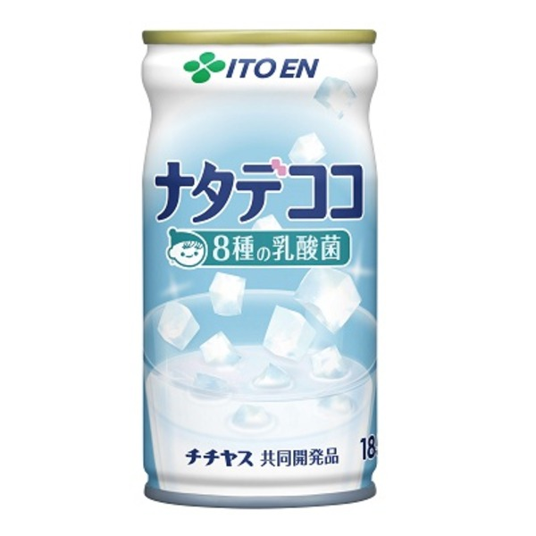 【まとめ買い】伊藤園ナタデココ 8種の乳酸菌 缶 185g×60本(30本×2ケース)