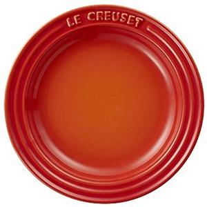 ル・クルーゼ (Le Creuset) ラウンドプレート・LC 15cm オレンジ
