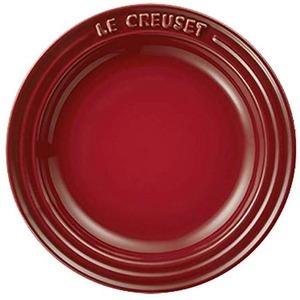 ル・クルーゼ (Le Creuset) ラウンドプレート・LC 15cm チェリーレッド