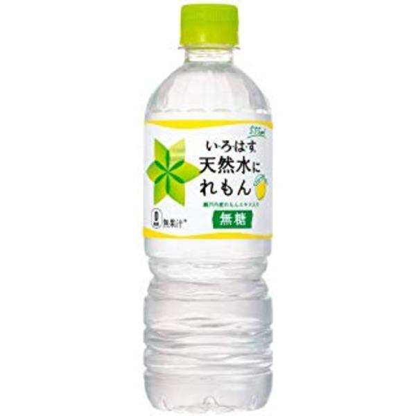 【まとめ買い】コカ・コーラ い・ろ・は・す(いろはす/I LOHAS)天然水にれもん 555ml ペットボトル×48本(24本×2ケース)