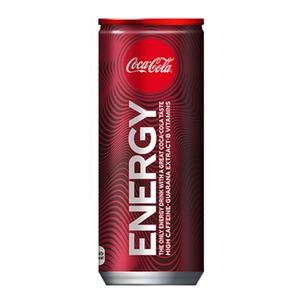 コカ・コーラ エナジー 250ml × 60本 (2ケース) エナジードリンク Coca Cola - 拡大画像