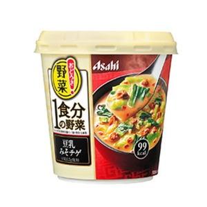 アサヒ おどろき野菜1食分豆乳みそチゲ 1箱(6個入) - 拡大画像