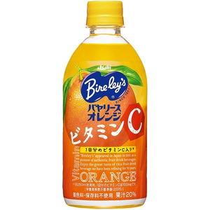 【まとめ買い】アサヒ バヤリース オレンジ ペットボトル 470ml×24本(1ケース) - 拡大画像